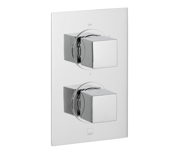 Mix 3 Outlet Thermostatic Shower Valve