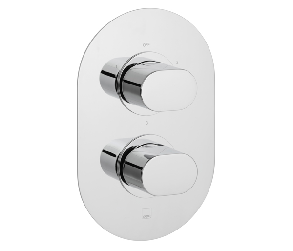 Life 3 Outlet Thermostatic Shower Valve