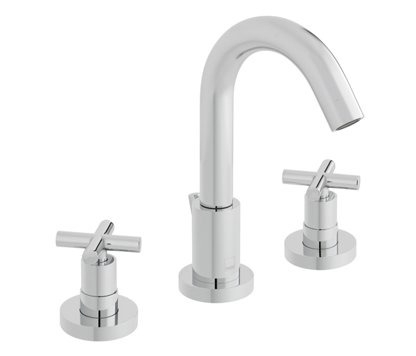 Elements 3 Hole Basin Mixer