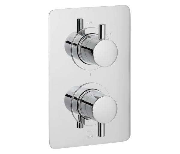 Celsius 3 Outlet Thermostatic Shower Valve