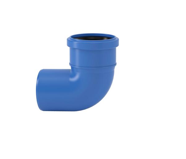 Tri-Plus Single Socket Bend 75mm 87.5\'