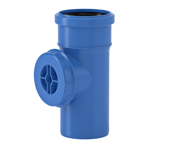 Tri-Plus Access Pipe With Cover 75mm