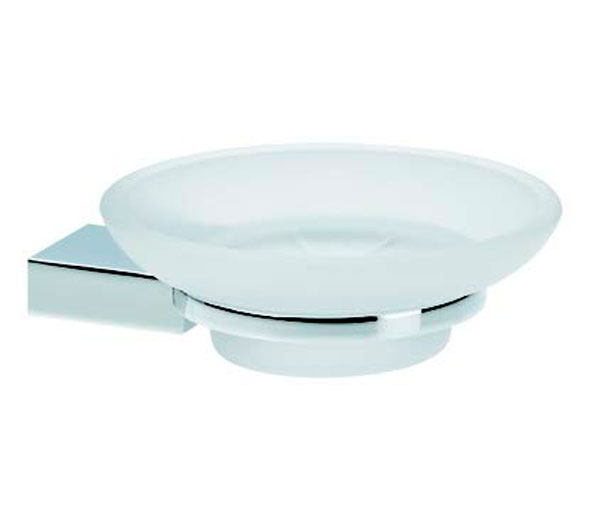 Violek Glamour Soap Dish Frosted Glass