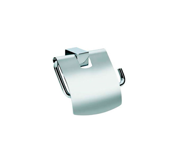 Violek Square Toilet Roll Holder With Cover