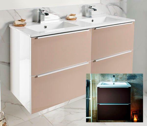 Talla Vanity Unit 1200x470mm Coffee