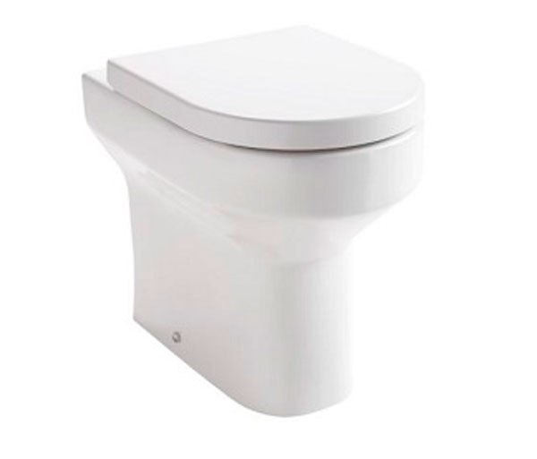 Oban Comfort Height Back to Wall Pan