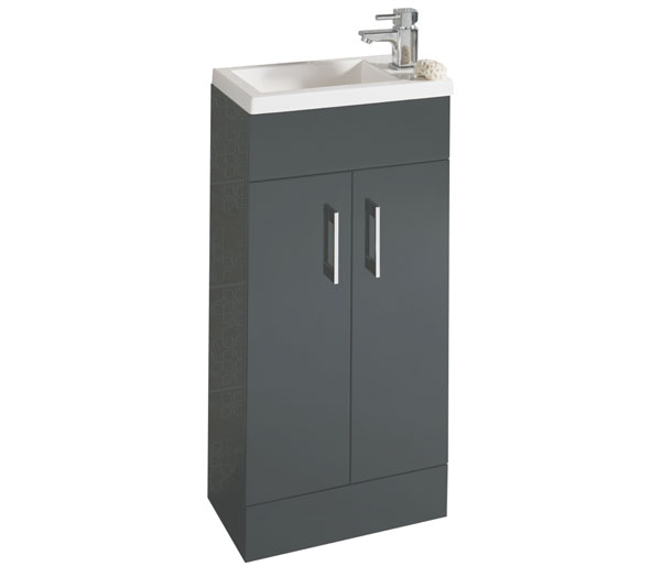 Lomond 400mm Basin Unit Anthracite