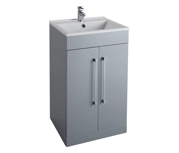 Idon 500mm Basin Unit Grey