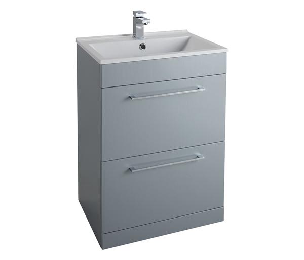 Idon 600mm Basin Unit Grey
