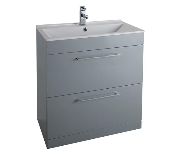 Idon 800mm Basin Unit Grey