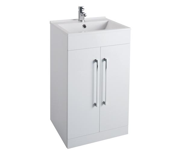 Idon 500mm Basin Unit White