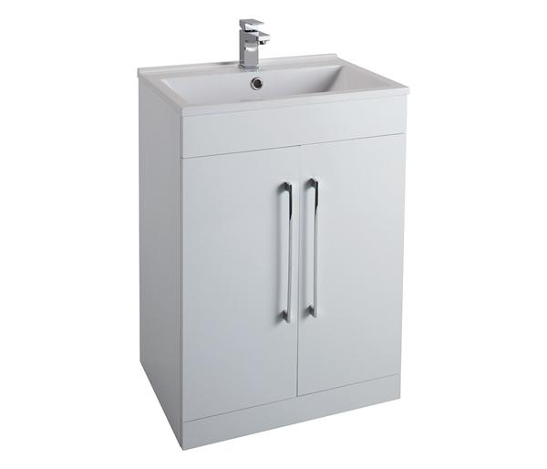 Idon 600mm Basin Unit White Gloss