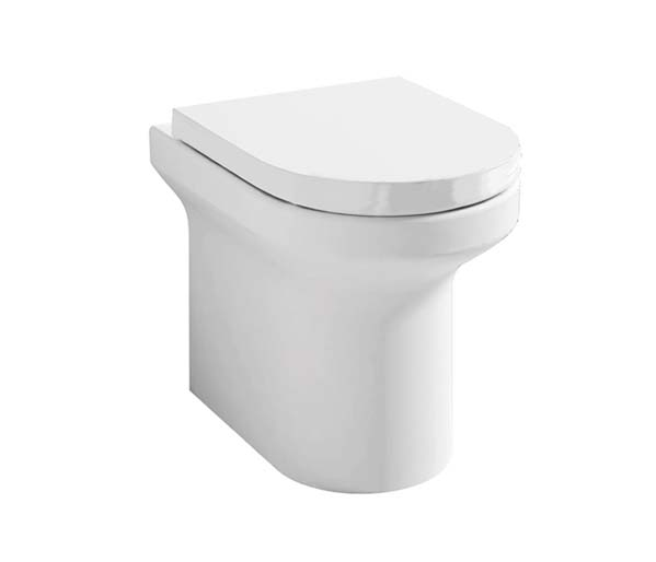 Alma Rimless Back to Wall Pan + Seat