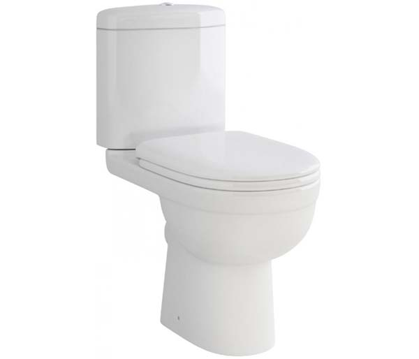 Ivo  Close Coupled Toilet Open Back