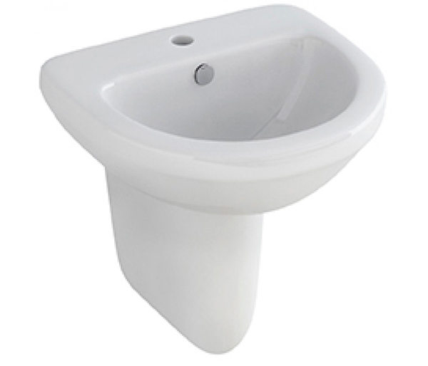 Ivo Basin with Semi Pedestal 500x410mm