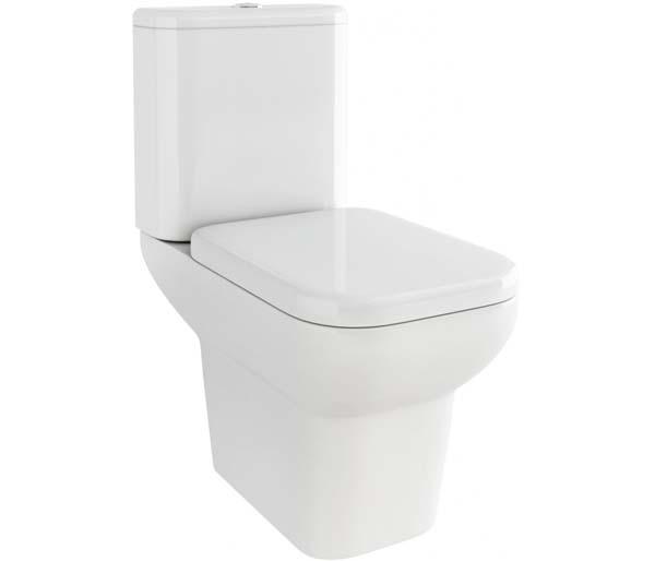 Urban Round Close Coupled Toilet Open Back