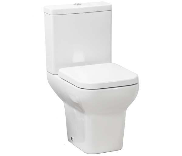Suburb Open Back Close Coupled Toilet