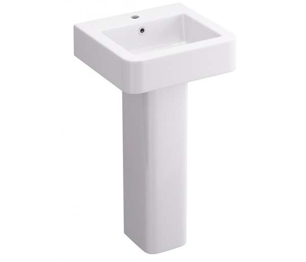Suburb 450mm 1th Basin & Full Pedestal