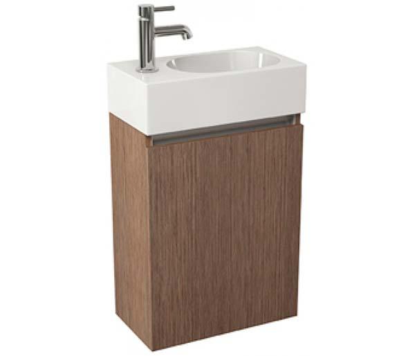 Echo 400mm  Basin Unit Soft Oak