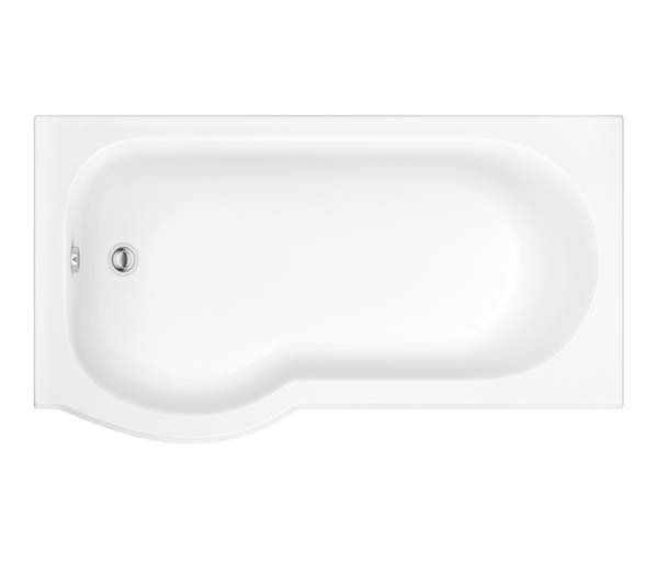Curve Shower Bath 1500 Left Hand