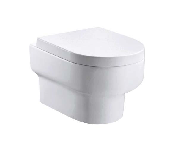 Duro Rimless Wall Mounted Toilet