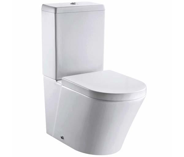 Arco Rimless Open Back Toilet