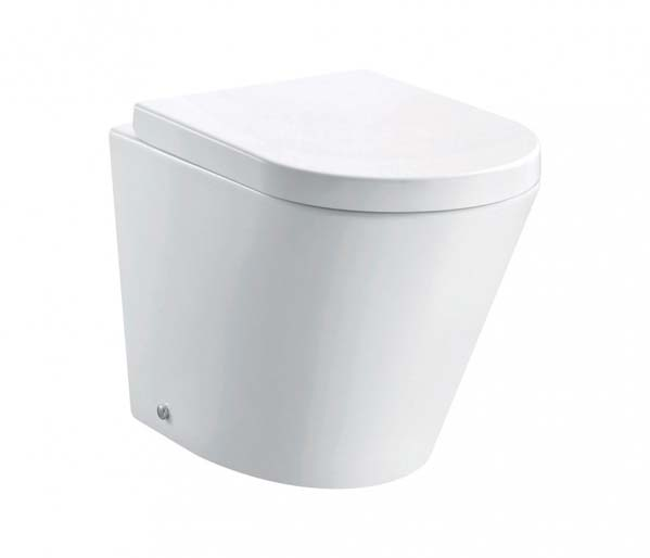 Arco Rimless Back to Wall Toilet