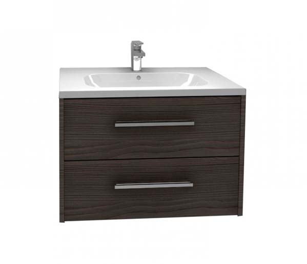 Arco Vanity Unit 750x455mm Graphite Fleetwood
