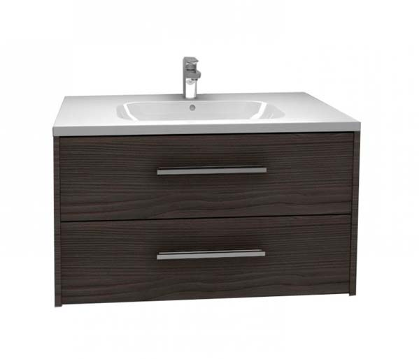 Arco Vanity Unit 900x455mm Graphite Fleetwood