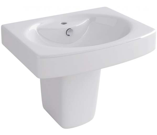 Dekka Basin & Semi Pedestal 550x430mm