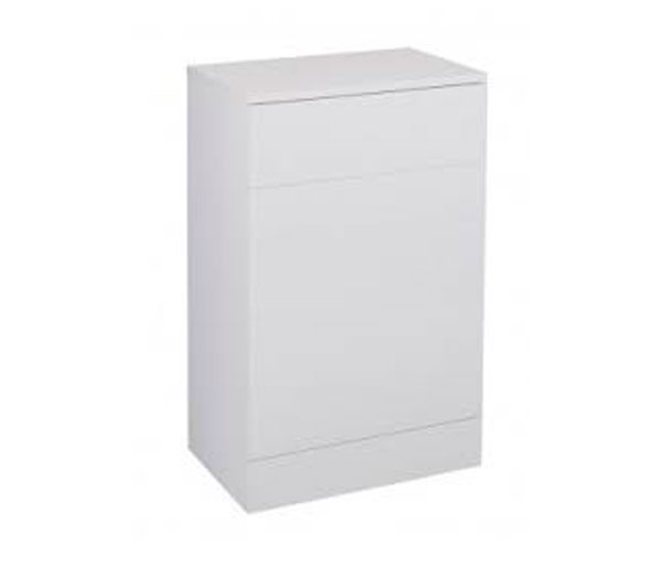 Cassellie WC Unit 500x300mm White Gloss