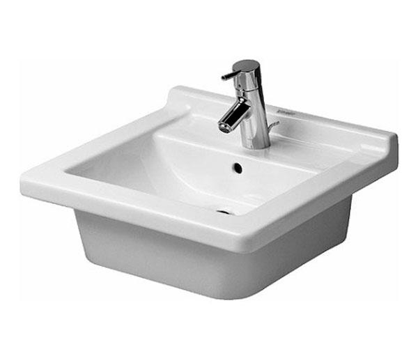 Starck 3 Vanity Countertop Basin  1TH 480x465