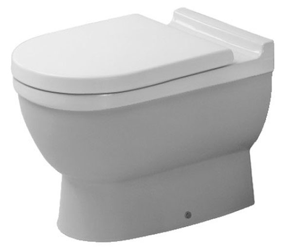Duravit Starck 3 Back to Wall Pan