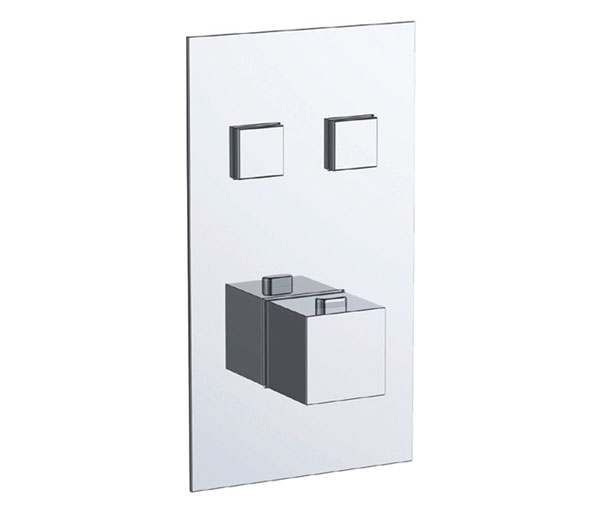 Athena 2 Outlet Thermostatic Shower Valve
