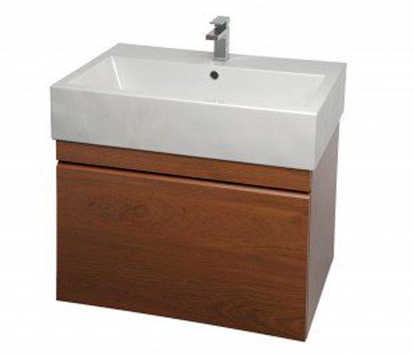 Sanuex Matteo Basin & Vanity 1th 600mm Oak