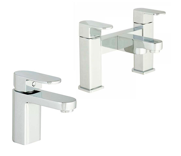 Gento Bathroom Tap Set ( Basin & Bath Filler)