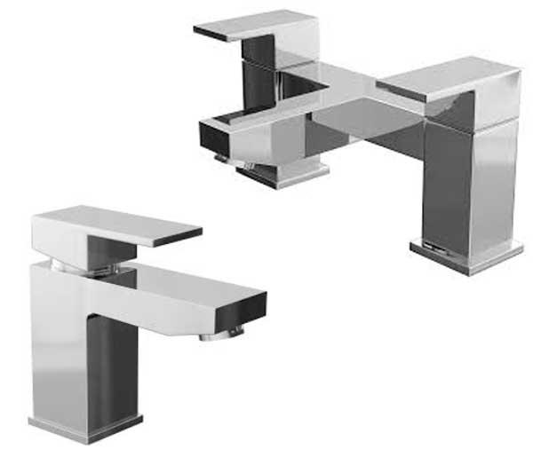 Form Bathroom Tap Set ( Basin & Bath Filler)