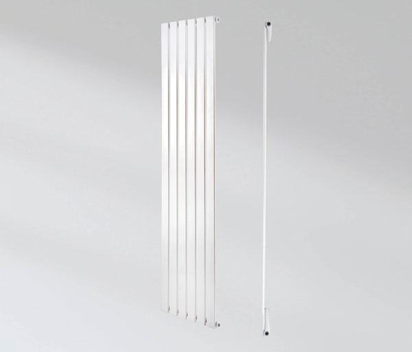 Aries White Vertical Radiator 1800Hx604W