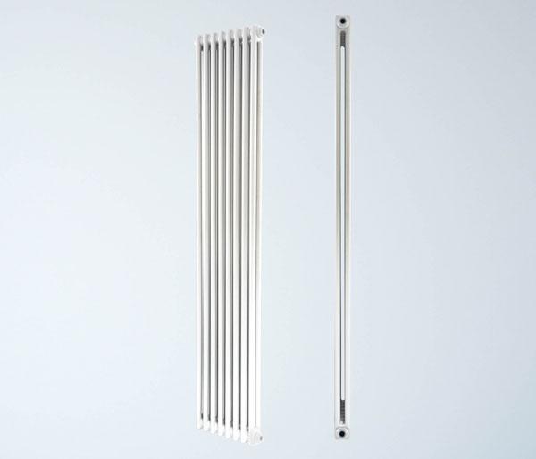 Artemis White Vertical Radiator 1200Hx376W
