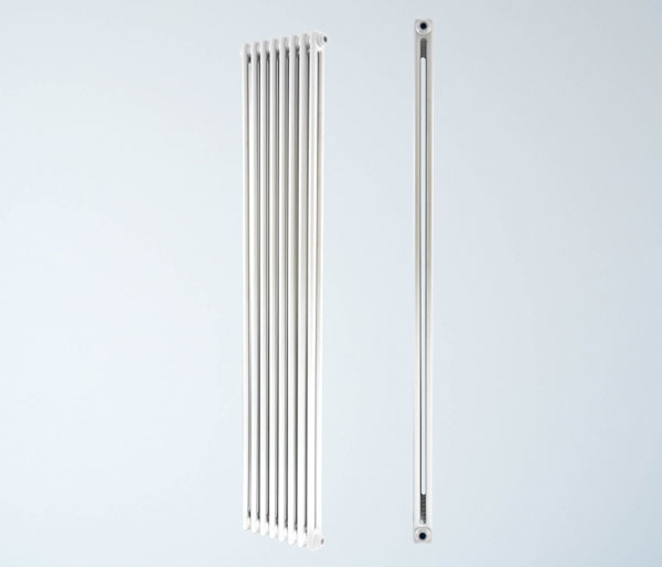 Artemis White Vertical Radiator 1800Hx465W