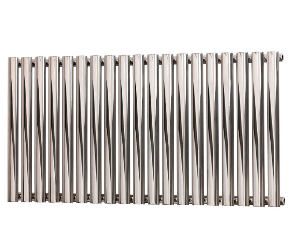 Brittia Chrome Horizontal Radiator 600Hx840W