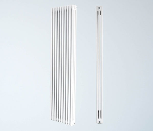Mika White Vertical Radiator 1800Hx465W