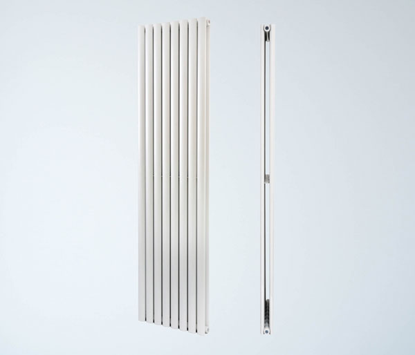 Pyxis White Vertical Radiator 1800Hx260W